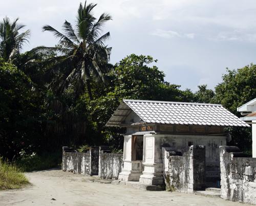 Old mosque in Kudahuvadhoo island