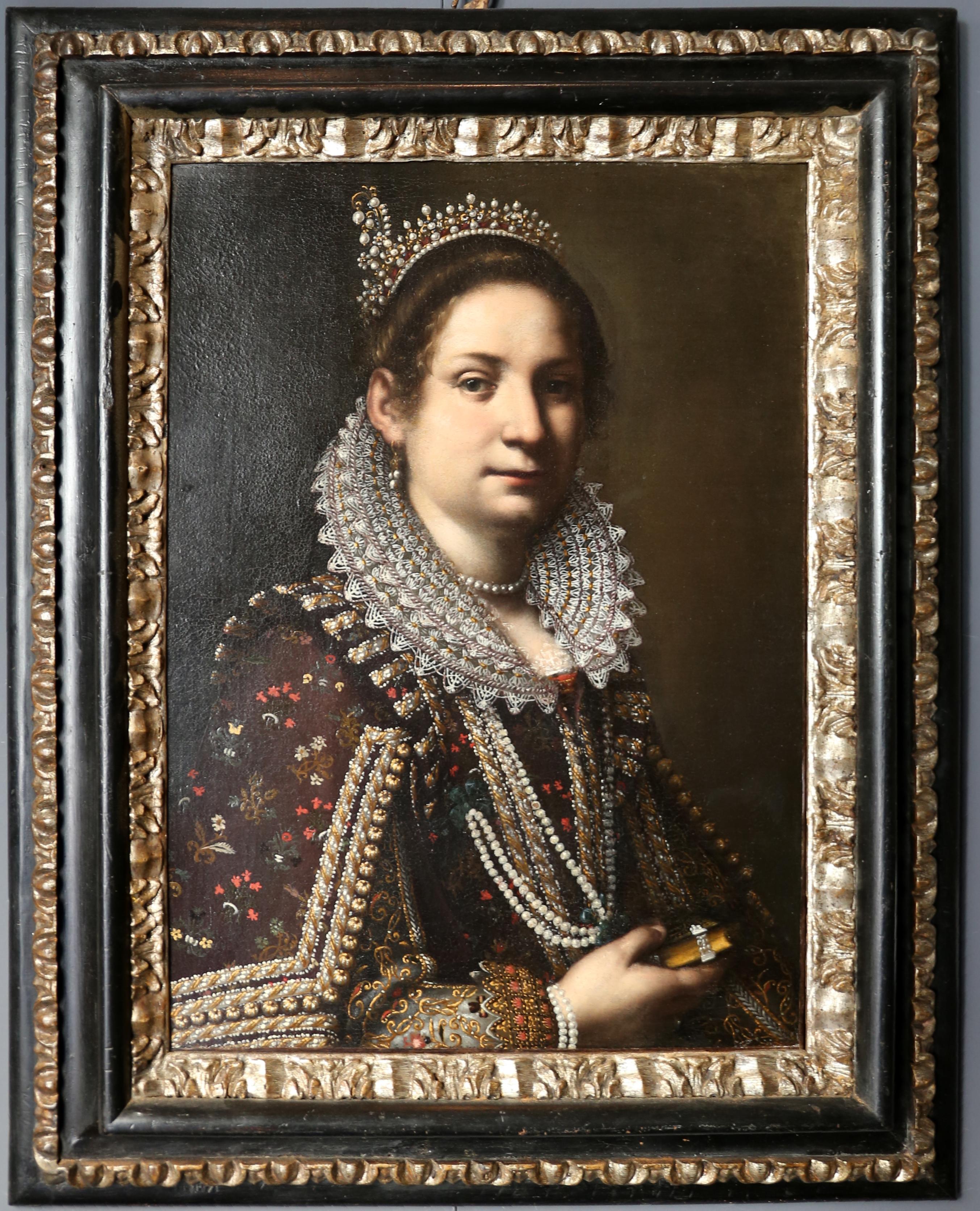 Vestiti Eleganti Wikipedia.File Ottavio Leoni Ritratto Di Nobildonna Con Vestito Elegante