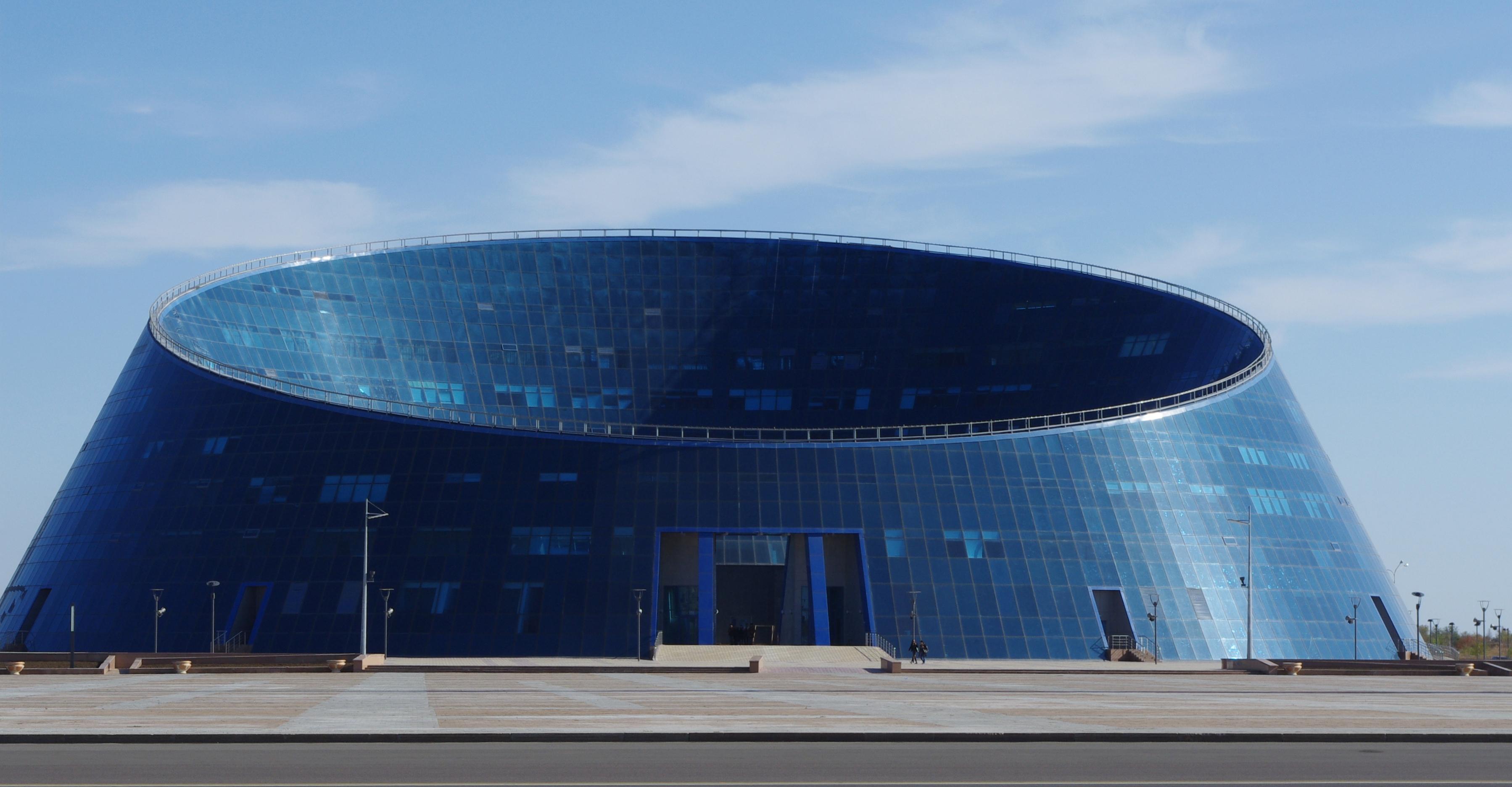 Kazakh National University of Arts, Astana, Kazakhstan [3597 x 1872]