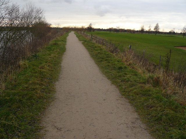 Path by the Trent - geograph.org.uk - 1102962