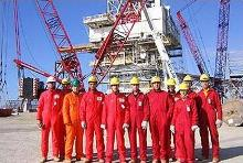 English: Petroleum Engineering students in the...