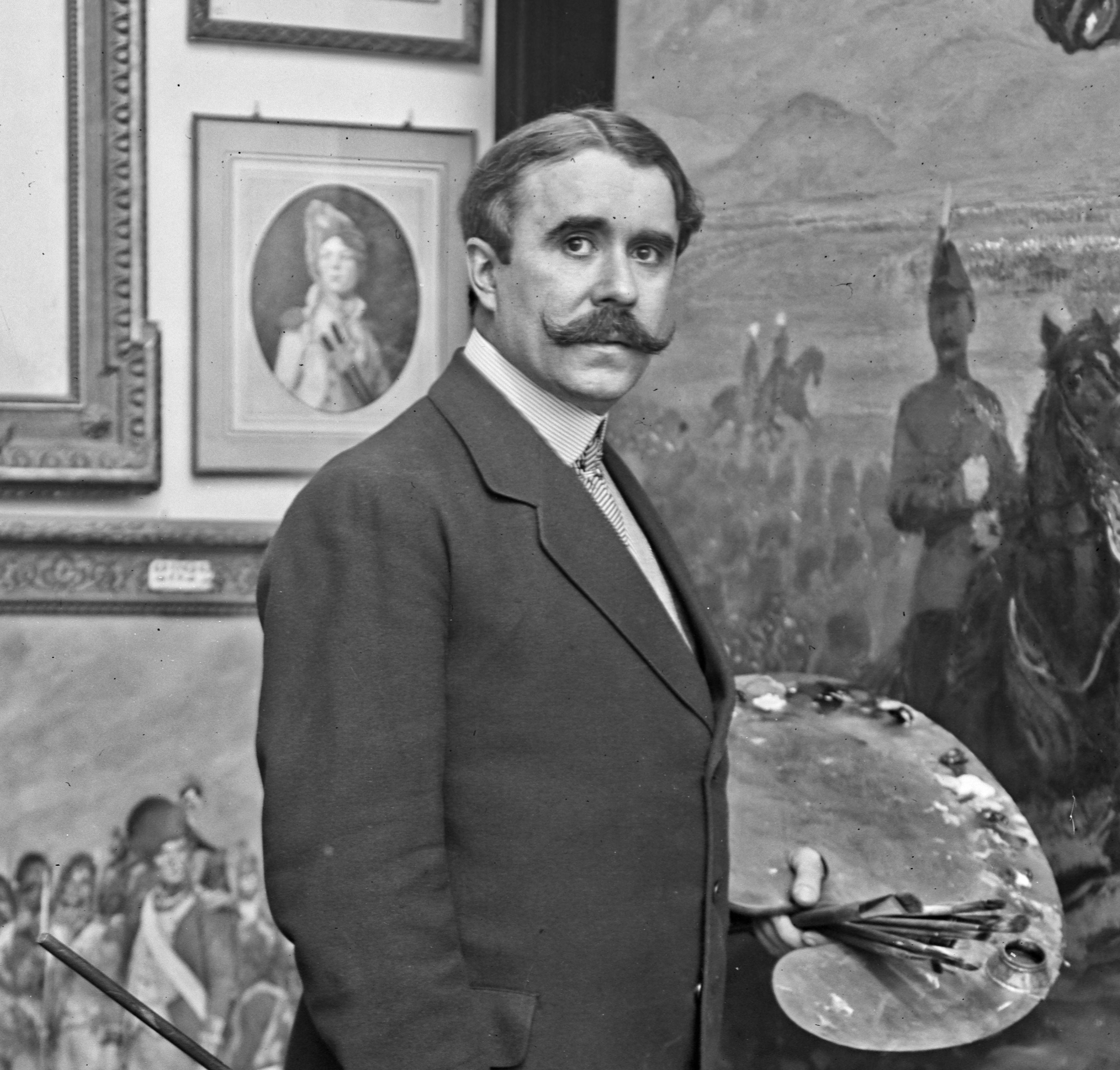 Tenue D Artiste Peintre georges scott — wikipédia