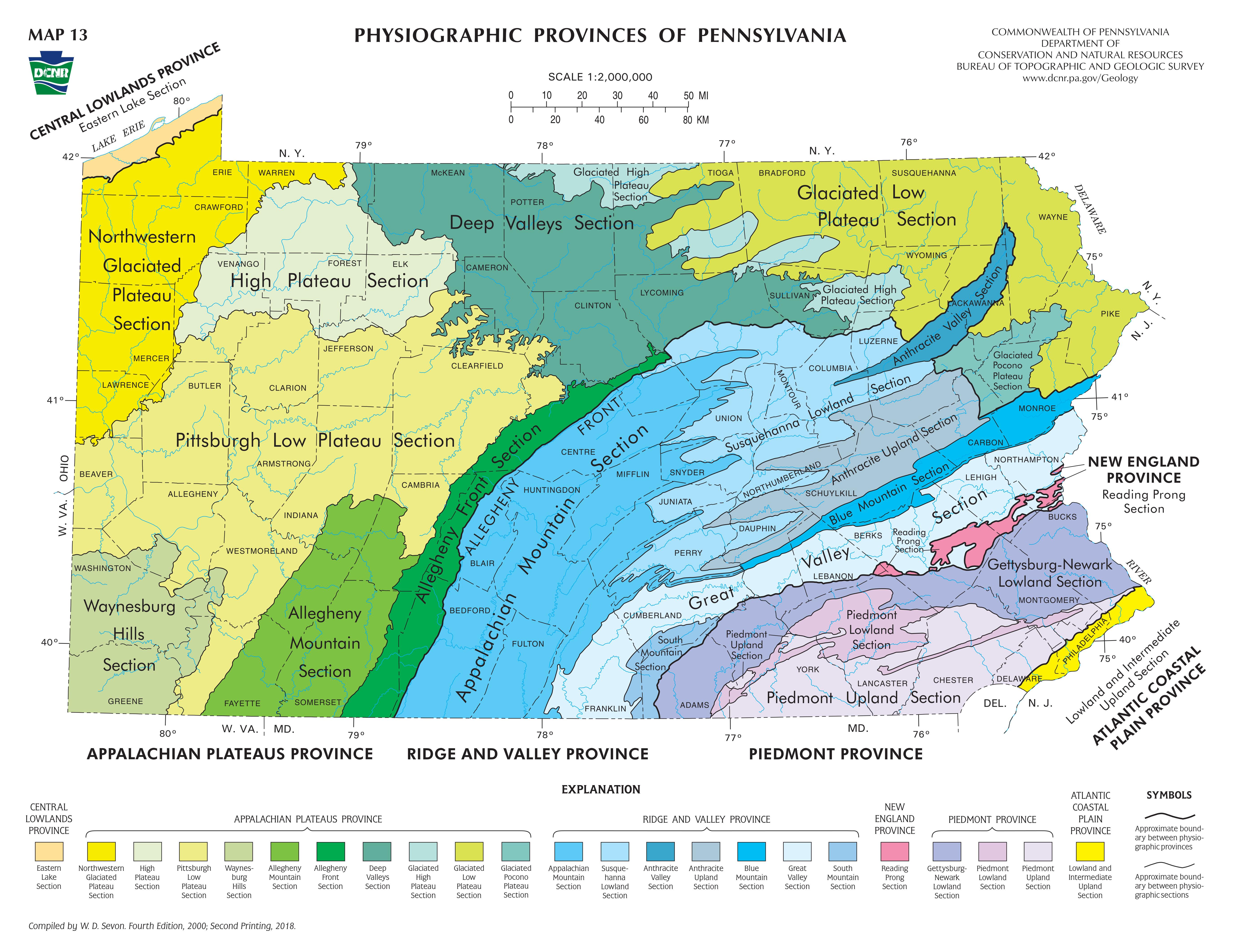 appalachian mountains pennsylvania map – bnhspine.com