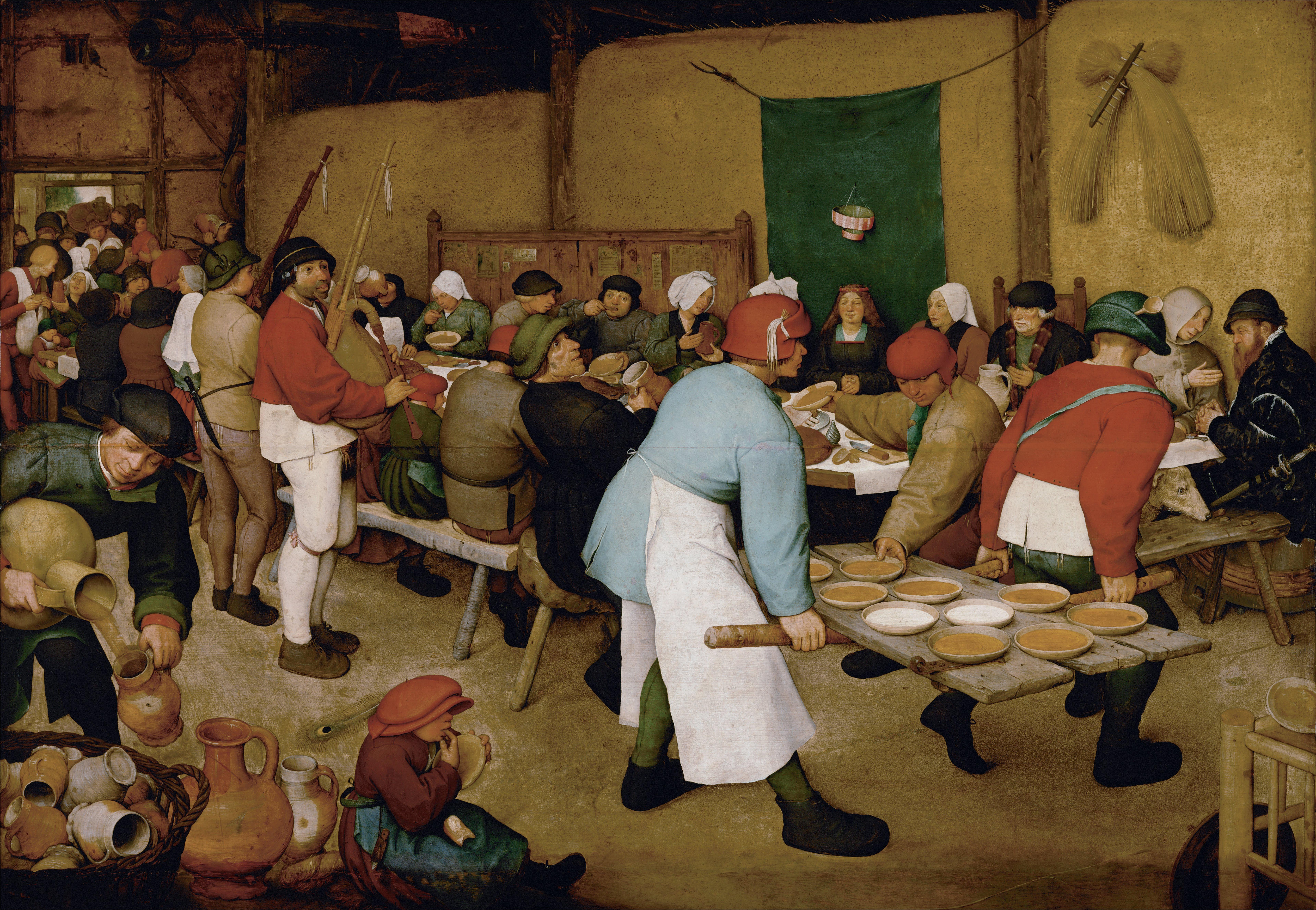 File Pieter Bruegel The Elder Peasant Wedding Google Art Project Jpg