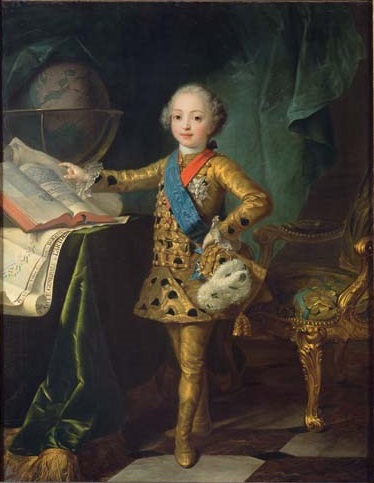 File:Portrait of the Count of Artois as an infant by Jean Martial Frédou.jpg
