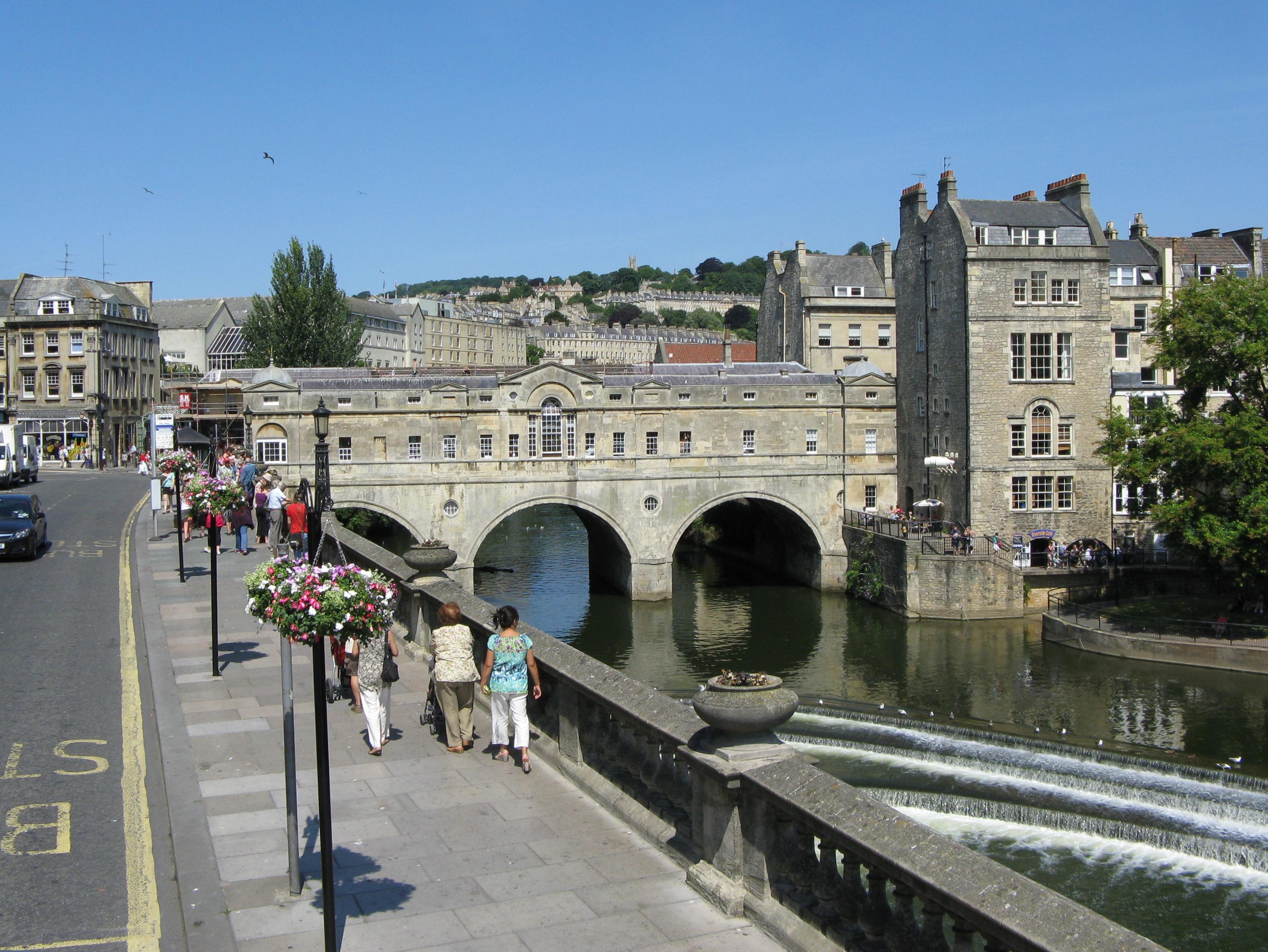 File Pulteney Bridge In Bath England Wikipedia