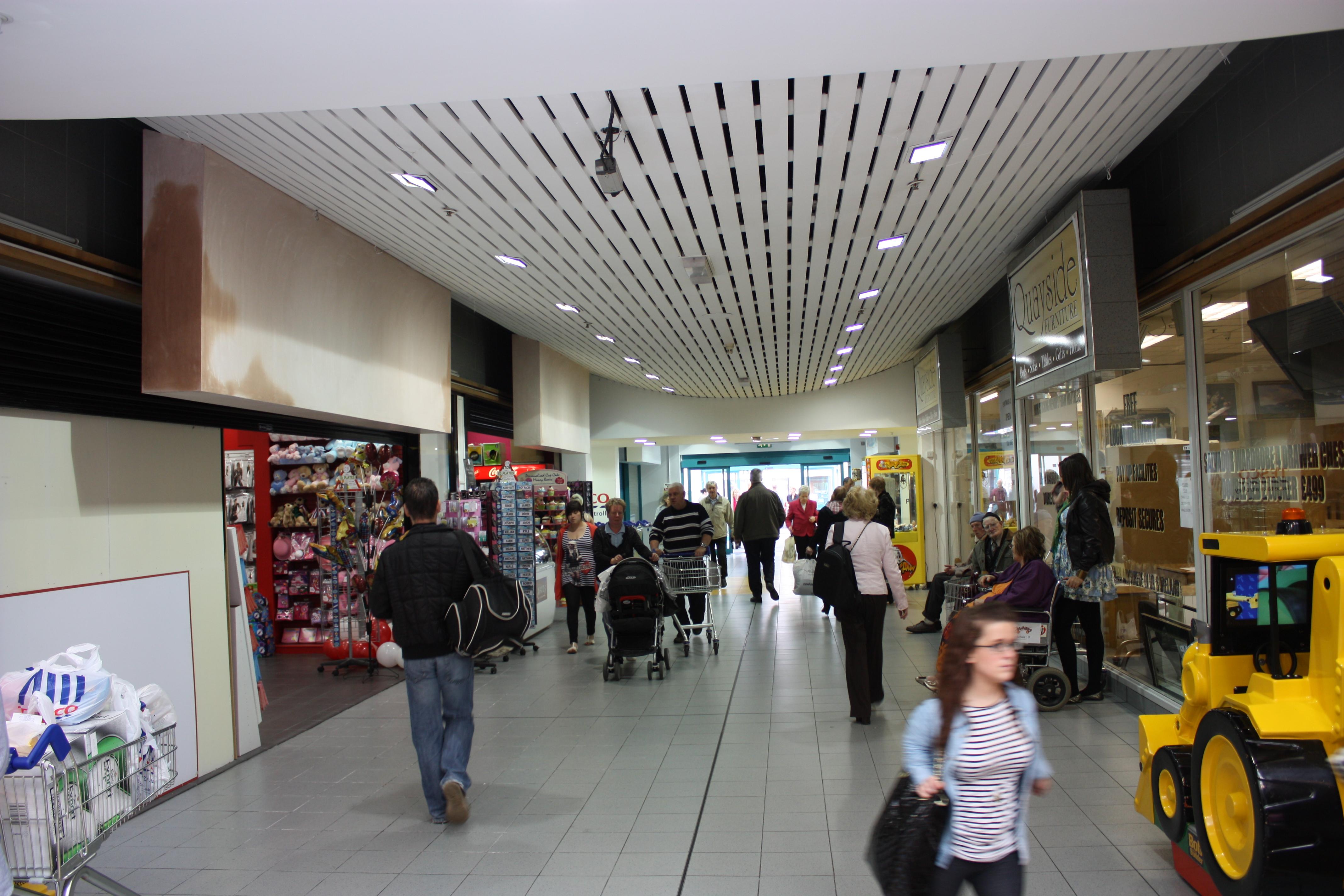 Quayside Shopping Centre Car Park Londonderry Uk