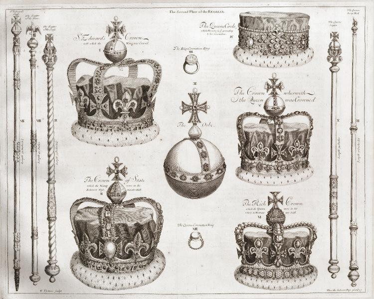 File:Regalia of King James II second plate.jpg