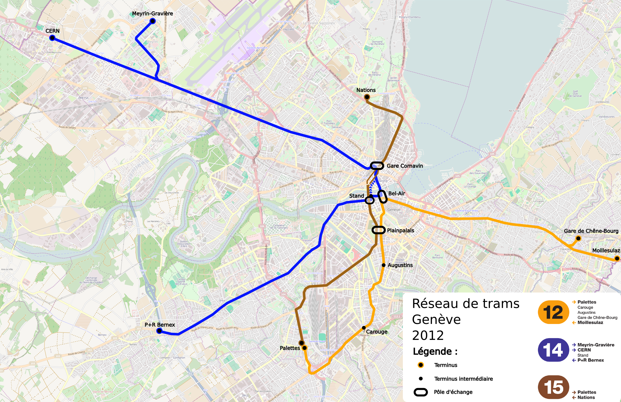 FileReseau Trams Geneve Png Wikimedia Commons - Geneva tram map