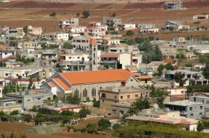 Rmaich City in Nabatieh Governorate, Lebanon