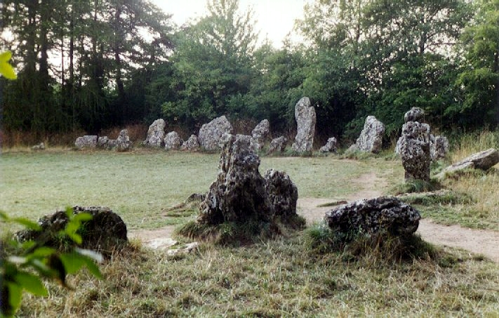 "An image of the ""King's Men"" of the Rollright Stones, a stone circle near the village of Long Compton in Warwickshire, England. By Richard Mudhar"