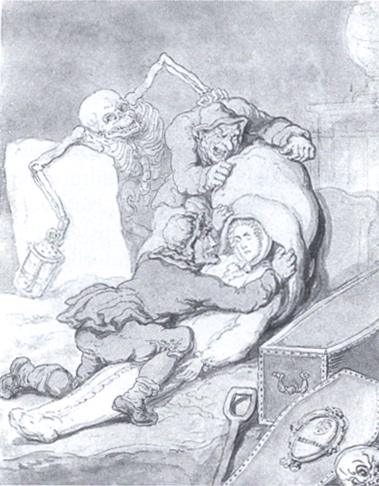 Rowlandson - Resurrection Men