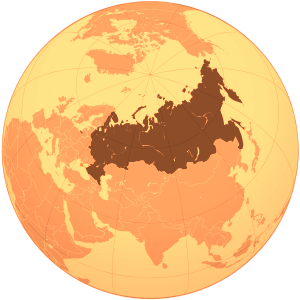 Russian Federation (orthographic projection) - Crimea disputed.png