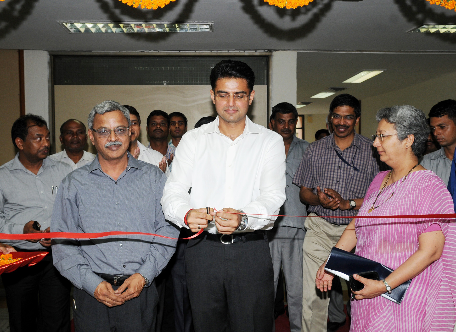 File:Sachin Pilot inaugurating the Centre for e-Governance (CeG), in