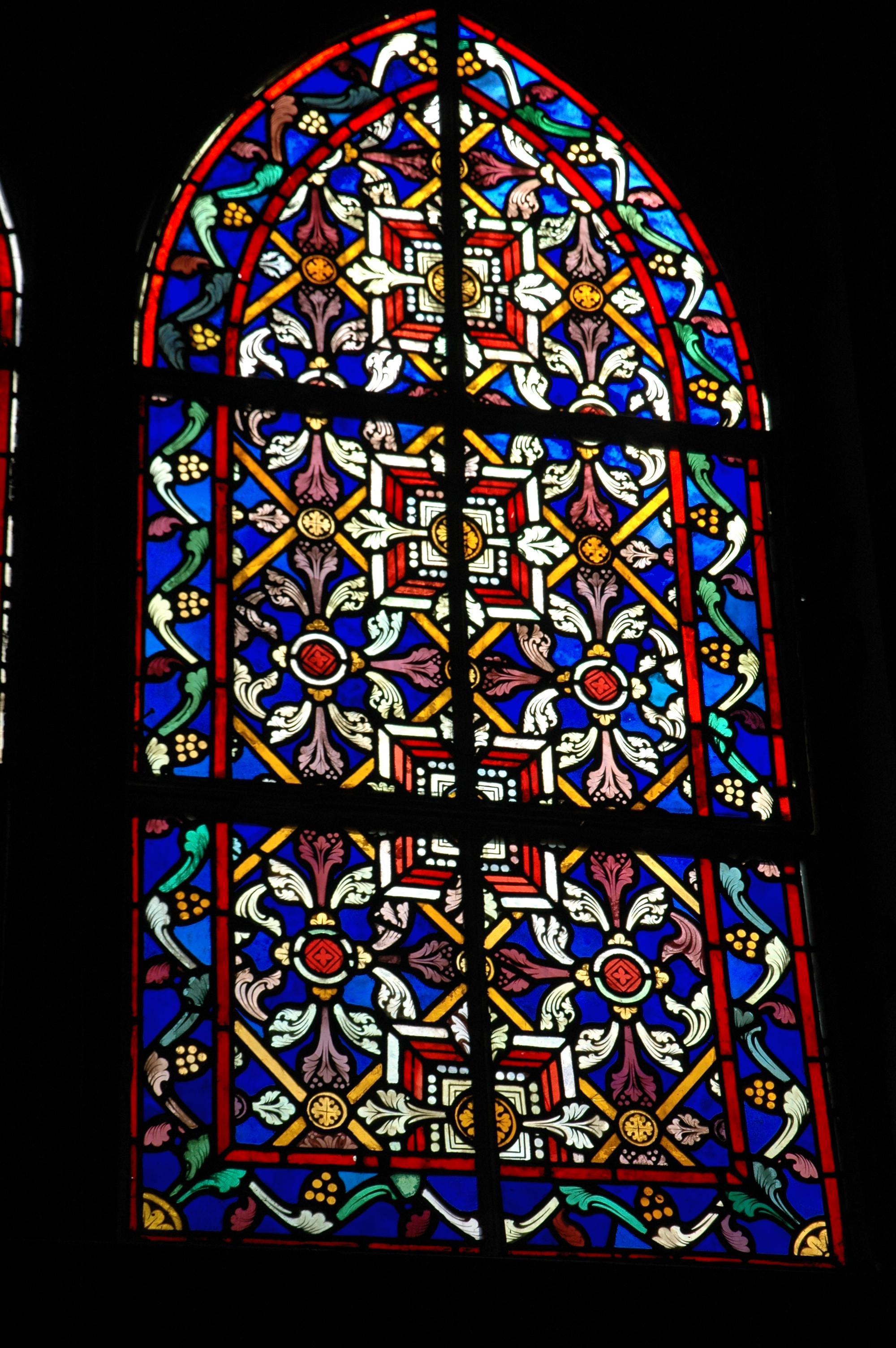 File saint barbara church in santa rosalia baja for Stained glass window church