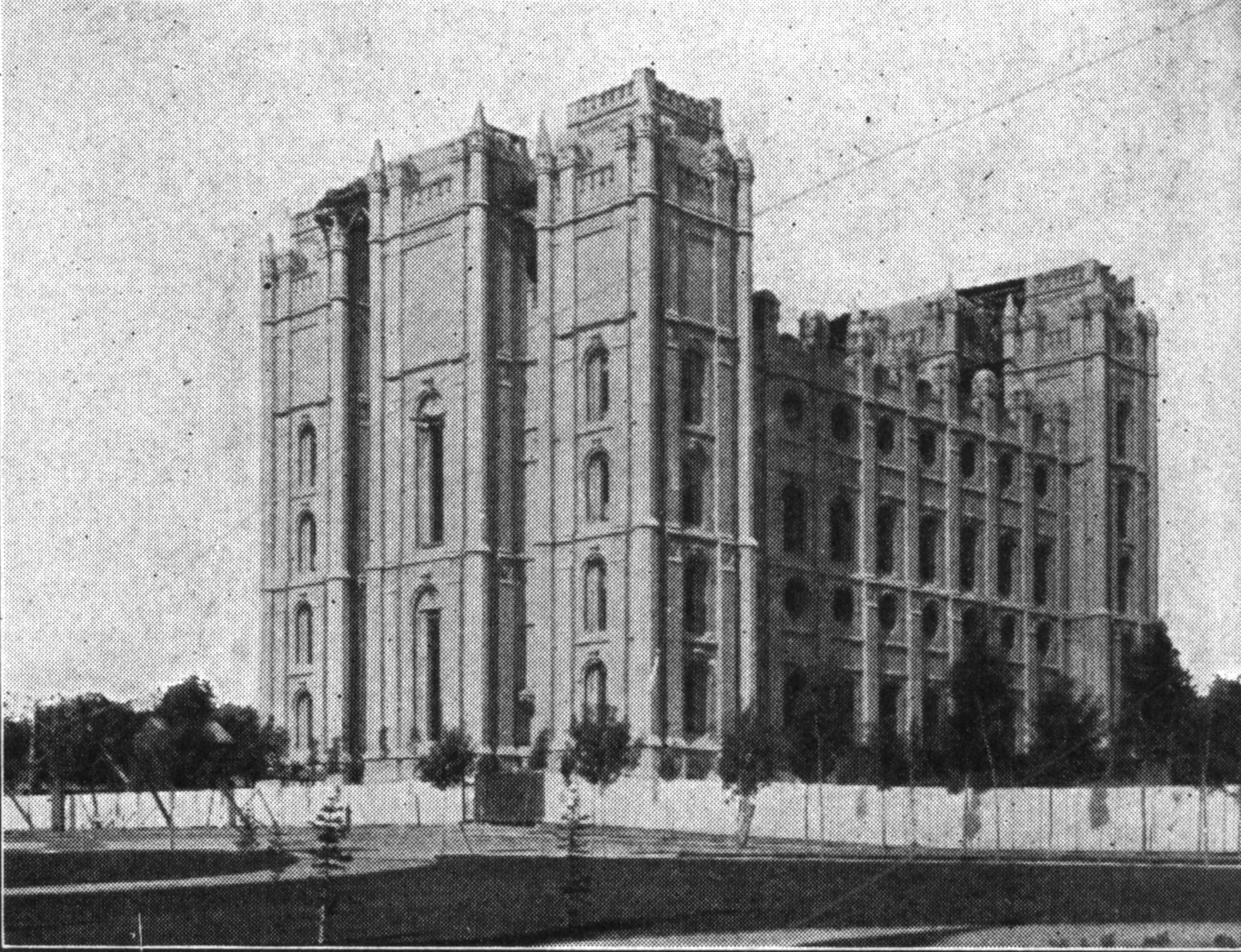 Salt Lake Temple 1912
