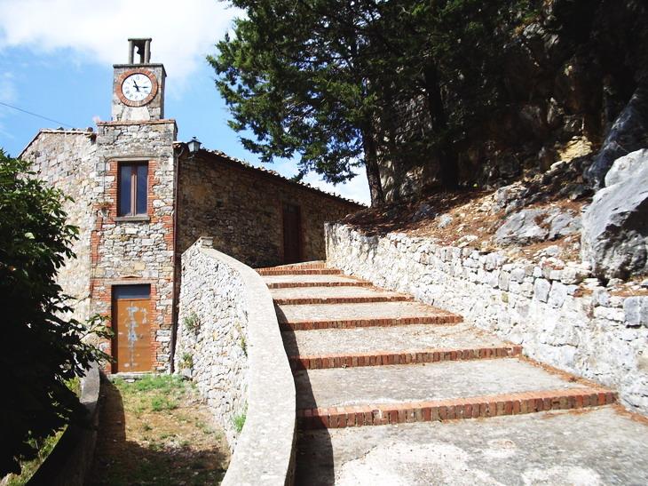 Scala dei Templari Rocchette di Fazio