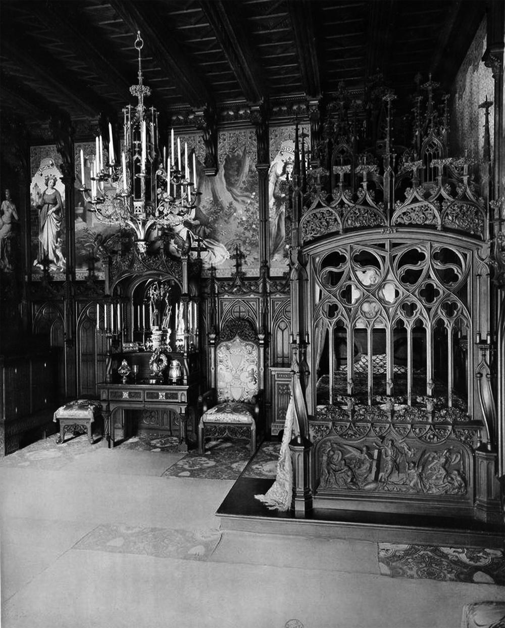 Beautiful Stilvolles Gotisches Schlafzimmer Images - Ideas ...