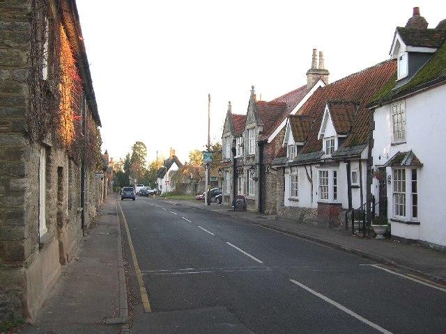 Sharnbrook High Street - geograph.org.uk - 84324