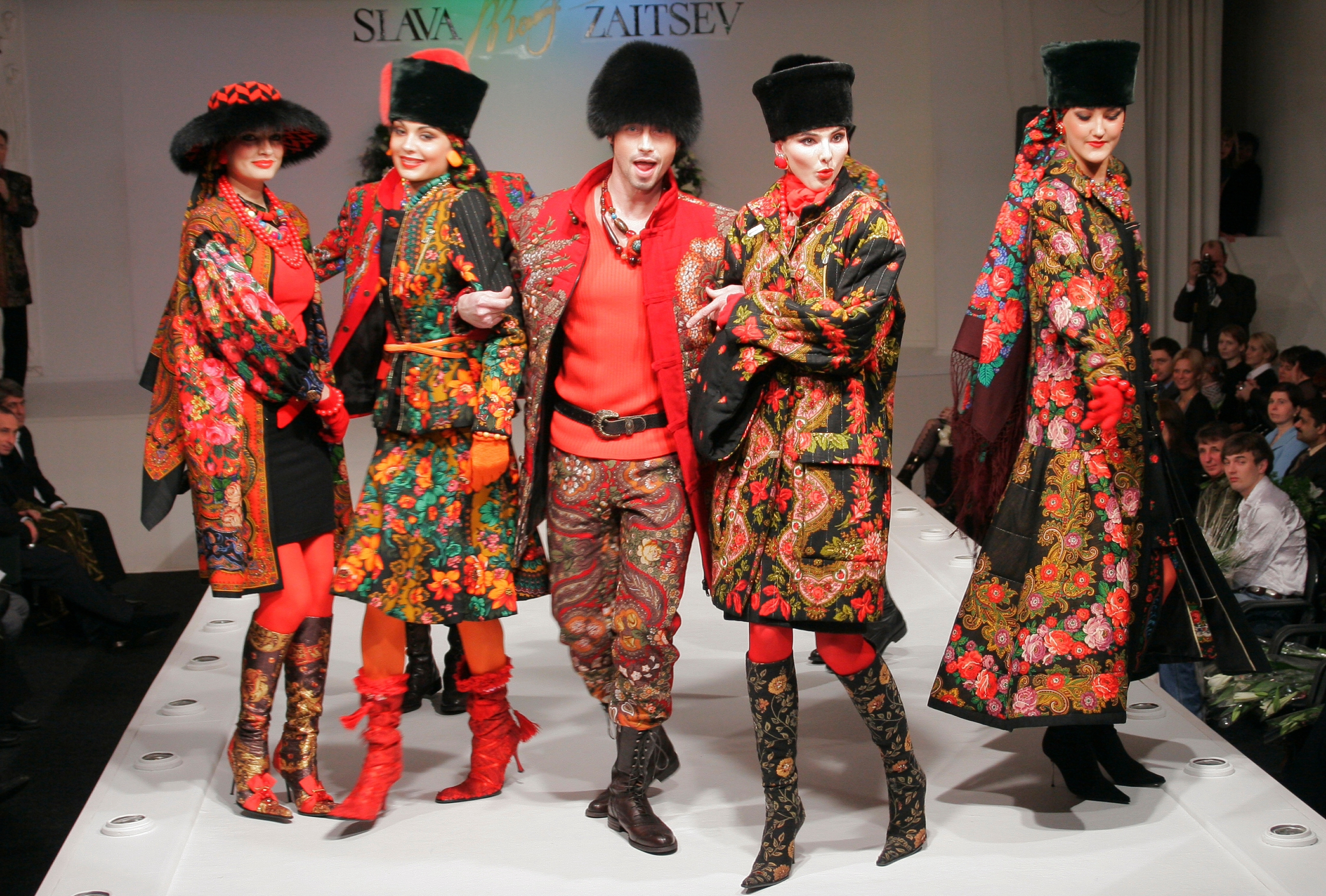 Music For Fashion Show Traditional Fashion show of Slava Zaitsev