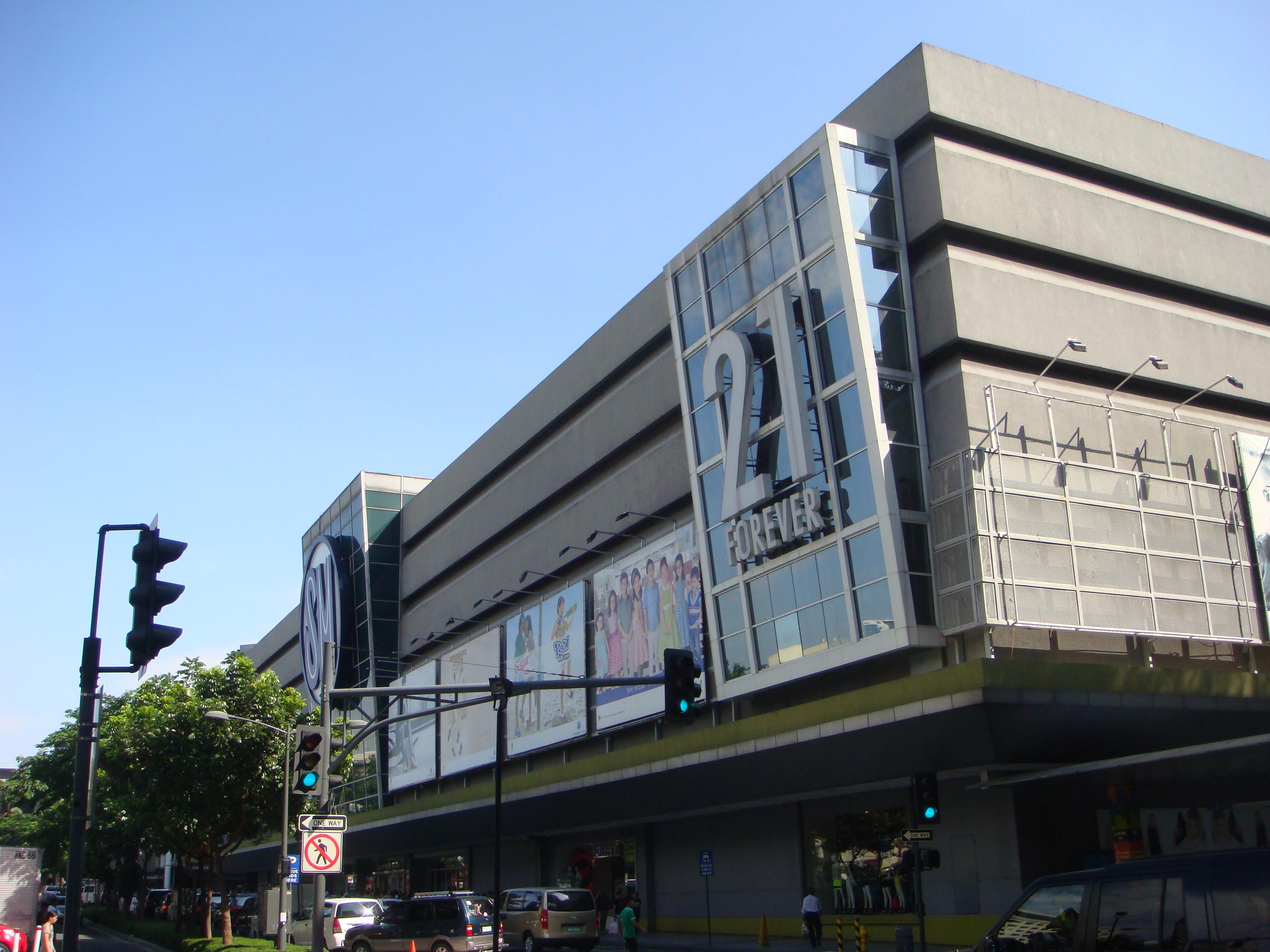 SM mall Makati exteriors