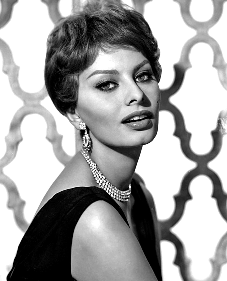 Description Sophia Loren   1959