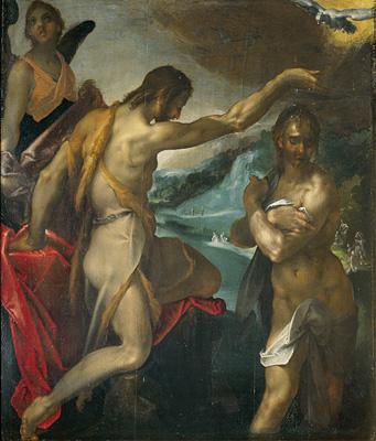 Spranger Taufe Christi im Jordan