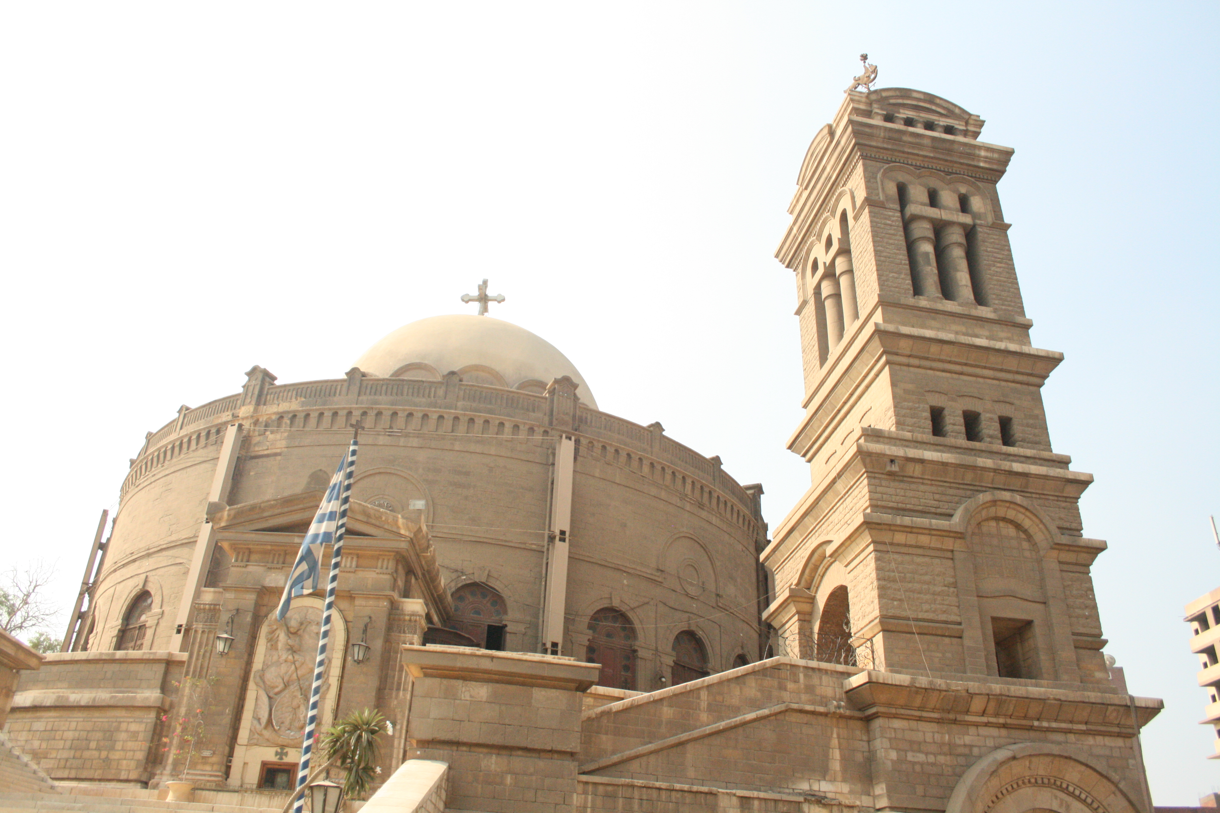 Superior Egypt Orthodox Church #1: St._George,_greek_coptic_church,_Old_Cairo,_Egypt2.jpg