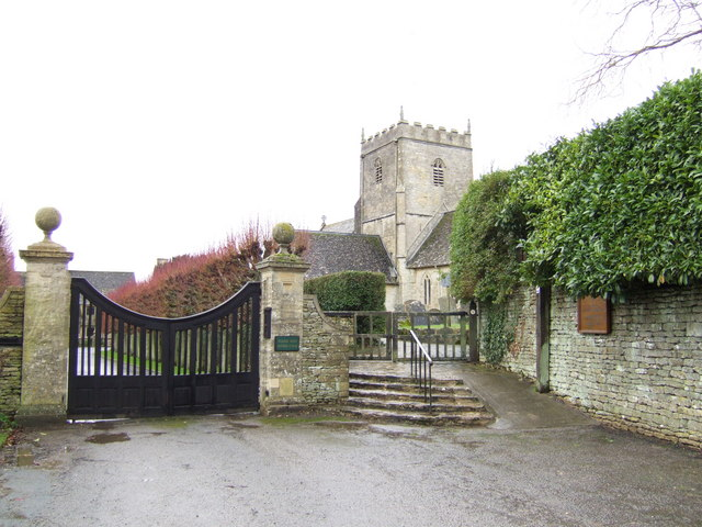 File:St .John the Baptist's church, Great Rissington - geograph.org.uk - 308810.jpg