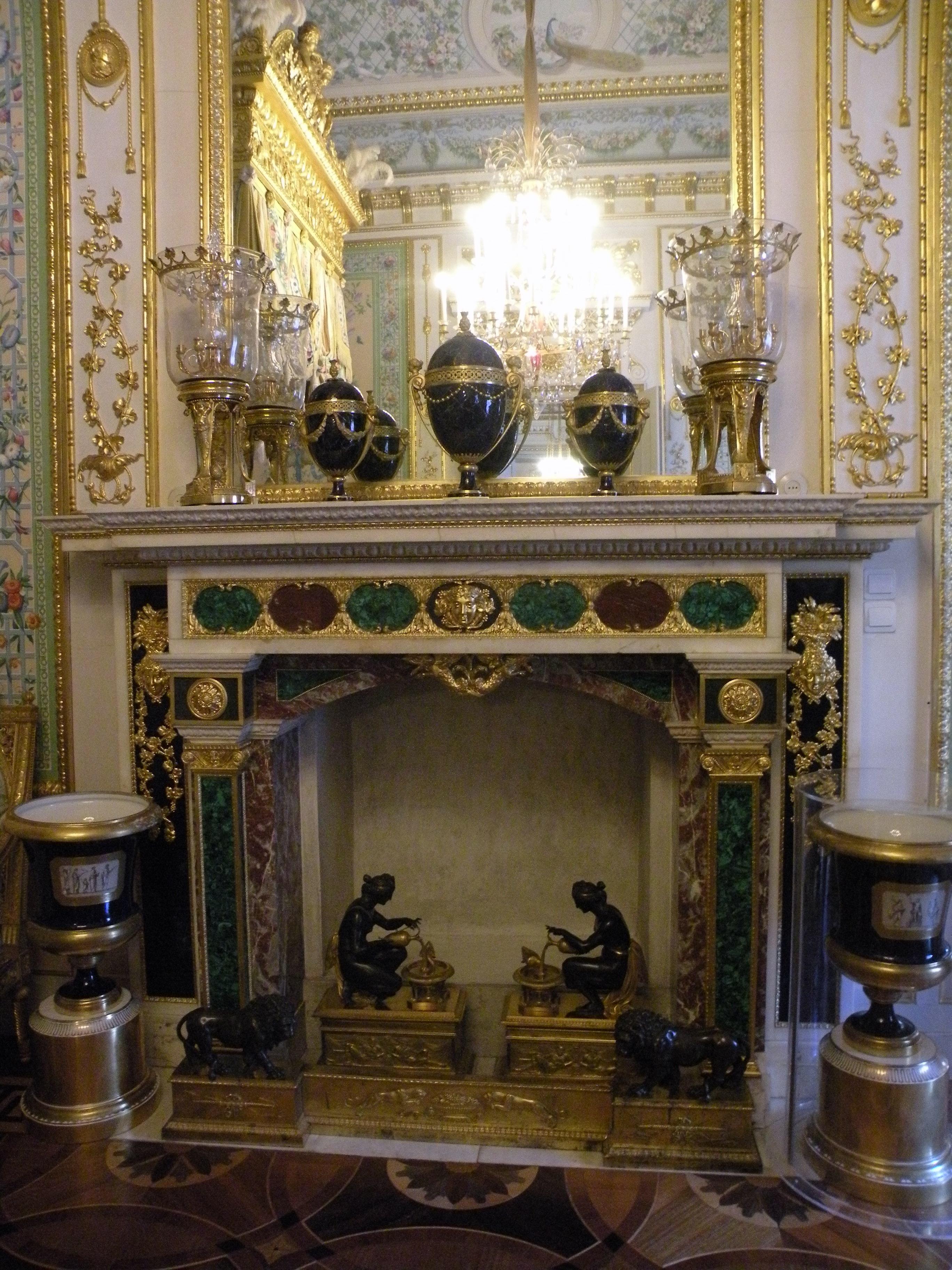 Decoration Simple Chambre Fille : Grand Palais  Intérieur  Pavlovsk  Salle Grecque  Décorée par