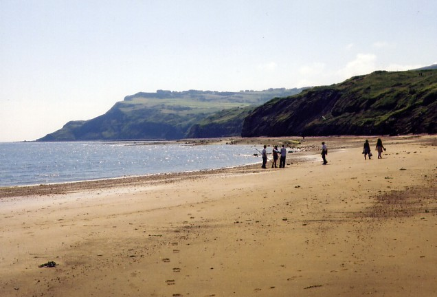 Stoupe Beck Sands - geograph.org.uk - 529594