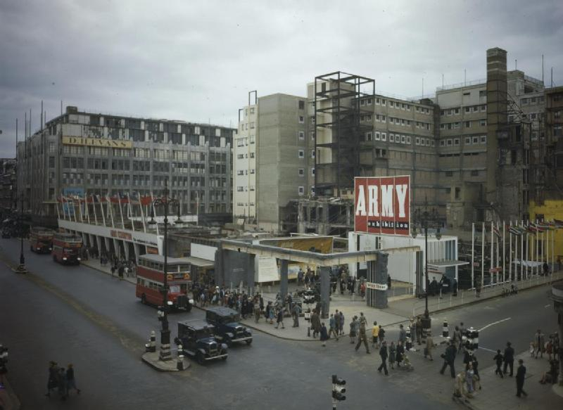 File The Army Exhibition In Oxford Street London 1943