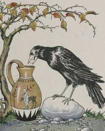 File:The Crow and the Pitcher - Project Gutenberg etext 19994.jpg