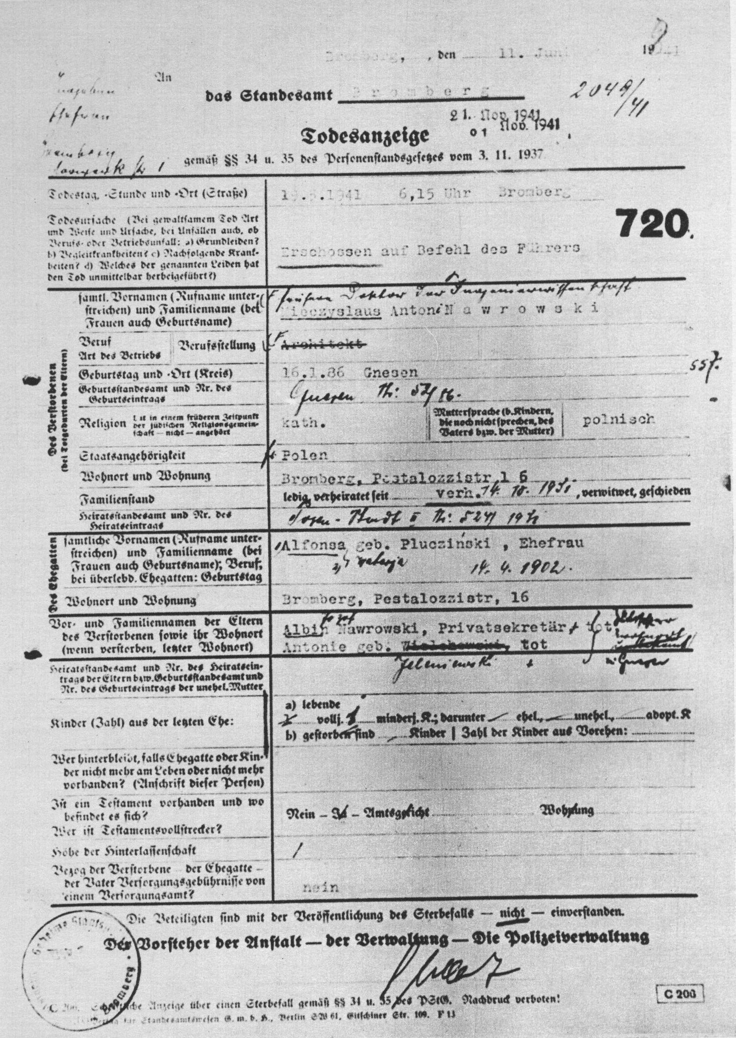 german birth certificates from germany