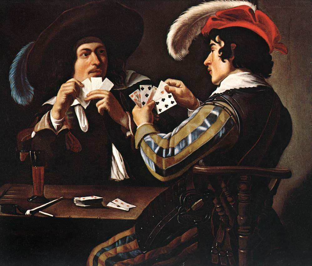 Card Game Wikipedia - Who painted the card players