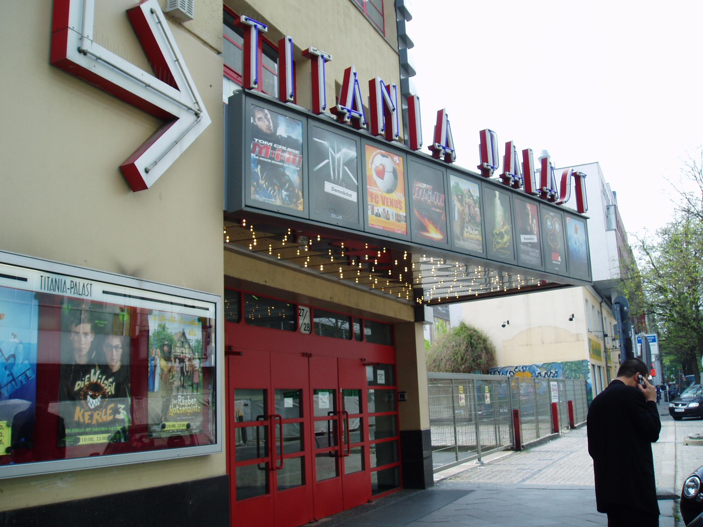 Titania Palast Steglitz Programm Heute