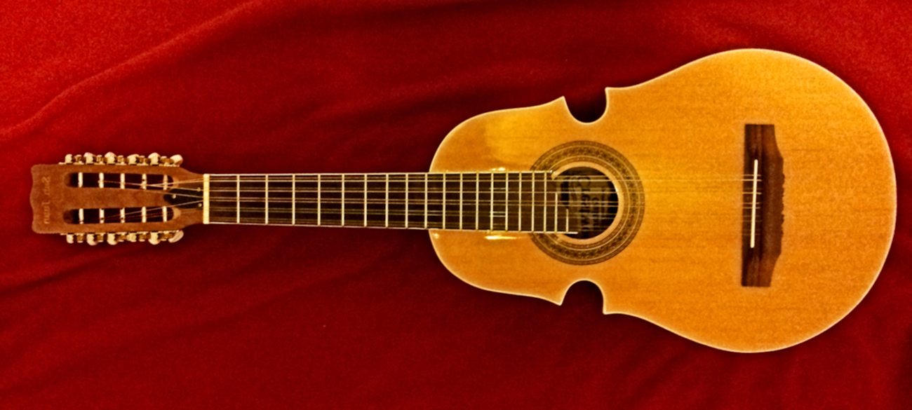 Image of Cuatro musical instrument from Puerto Rico.