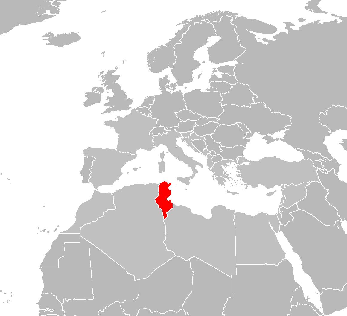 FileTunisia Locatorpng Wikimedia Commons - Map of tunisia world