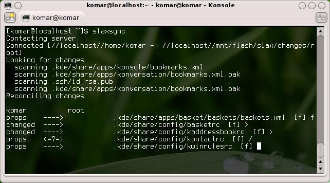 Un programa cualquiera en linea de comandos