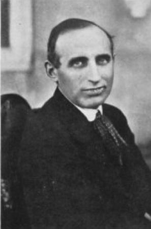 Varga Jenő 1919 körül