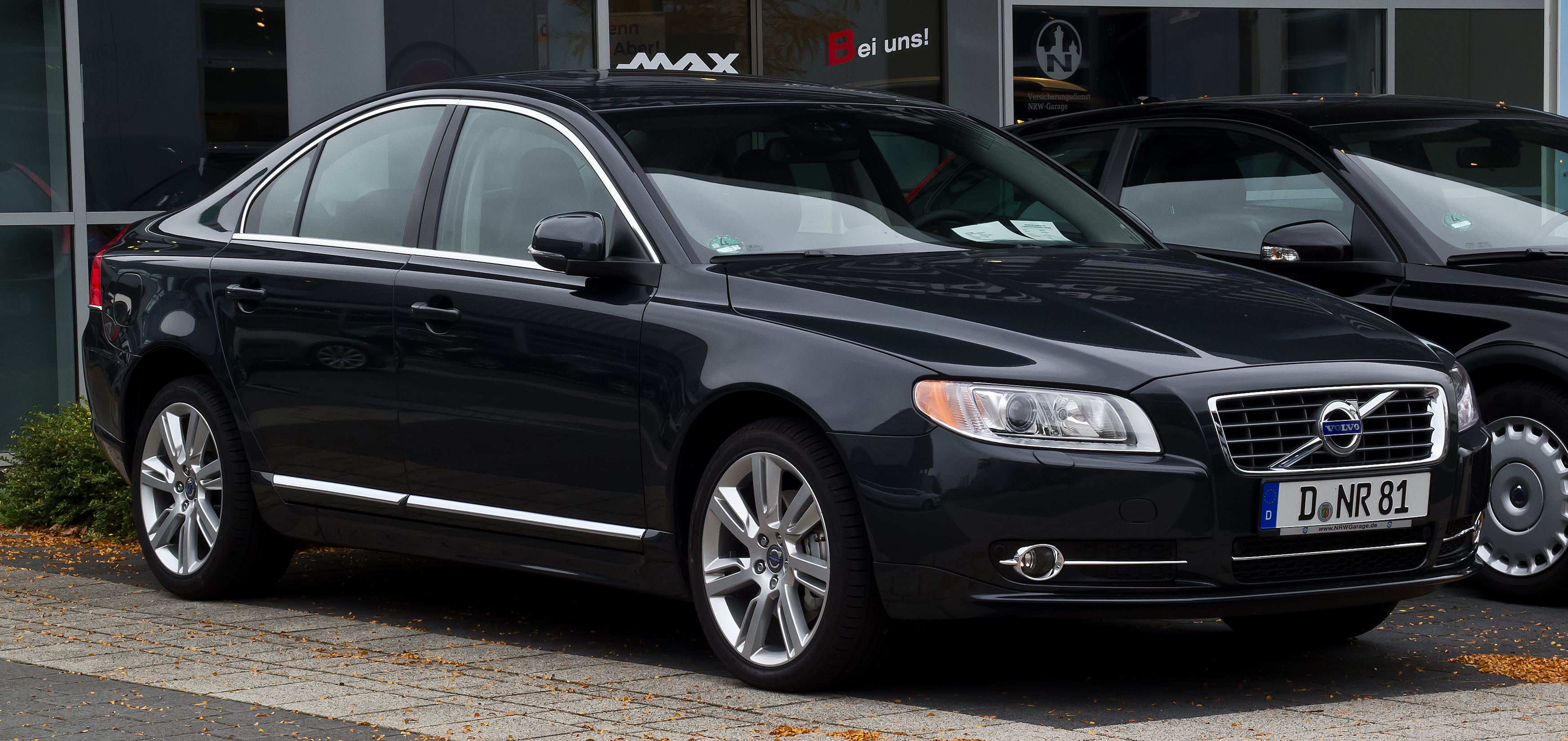File Volvo S80 D5 Momentum Ii Facelift Frontansicht
