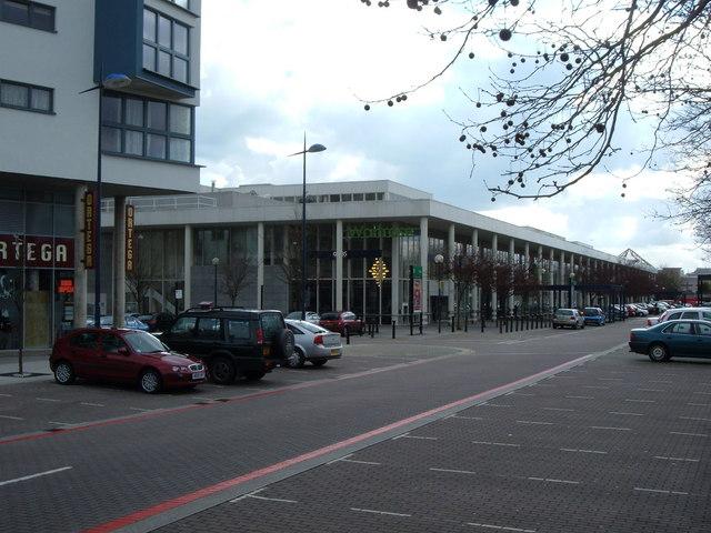 File:Waitrose and Sainsbury Building - geograph.org.uk - 746503.jpg