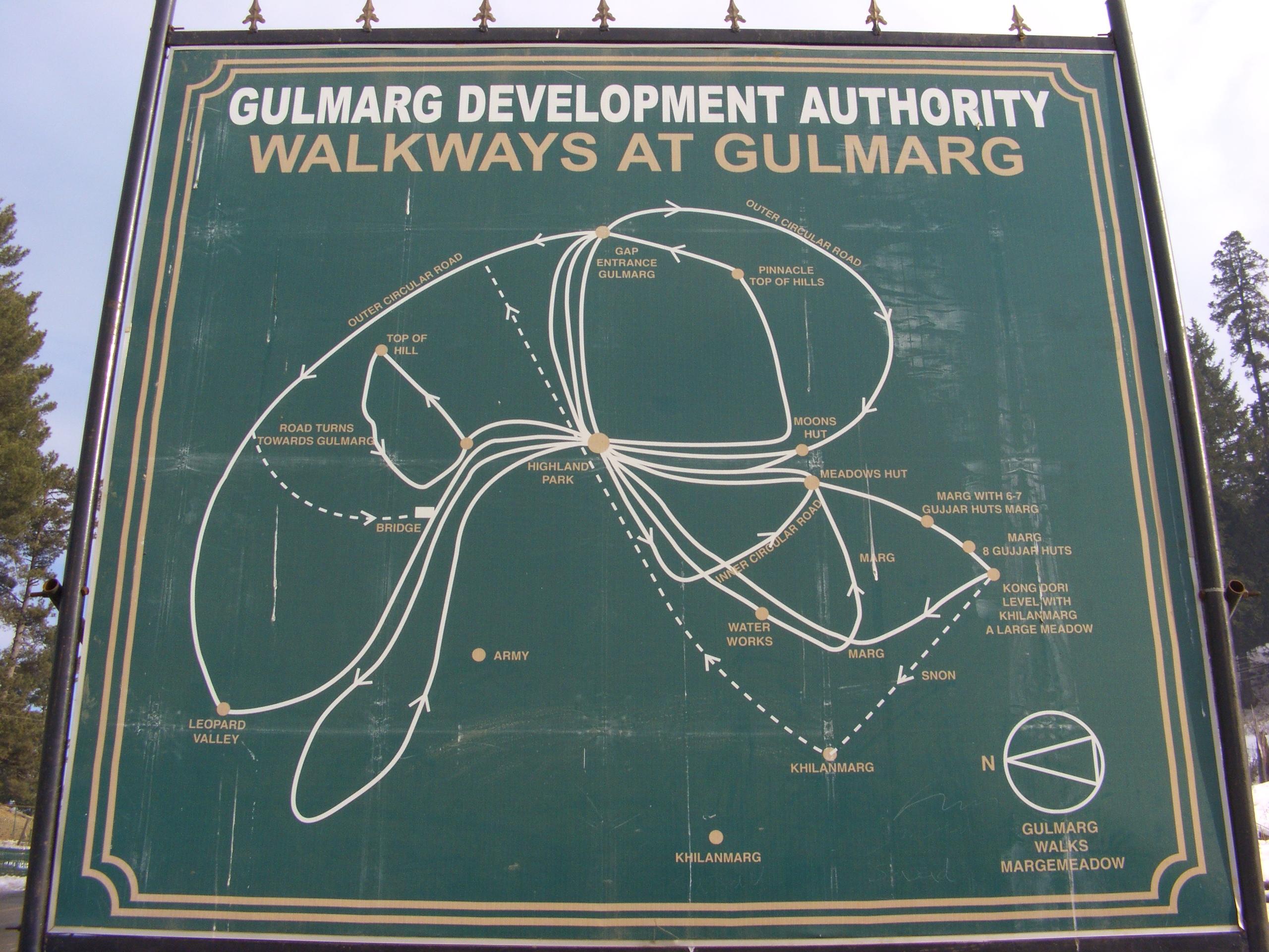 Walkways in Gulmarg