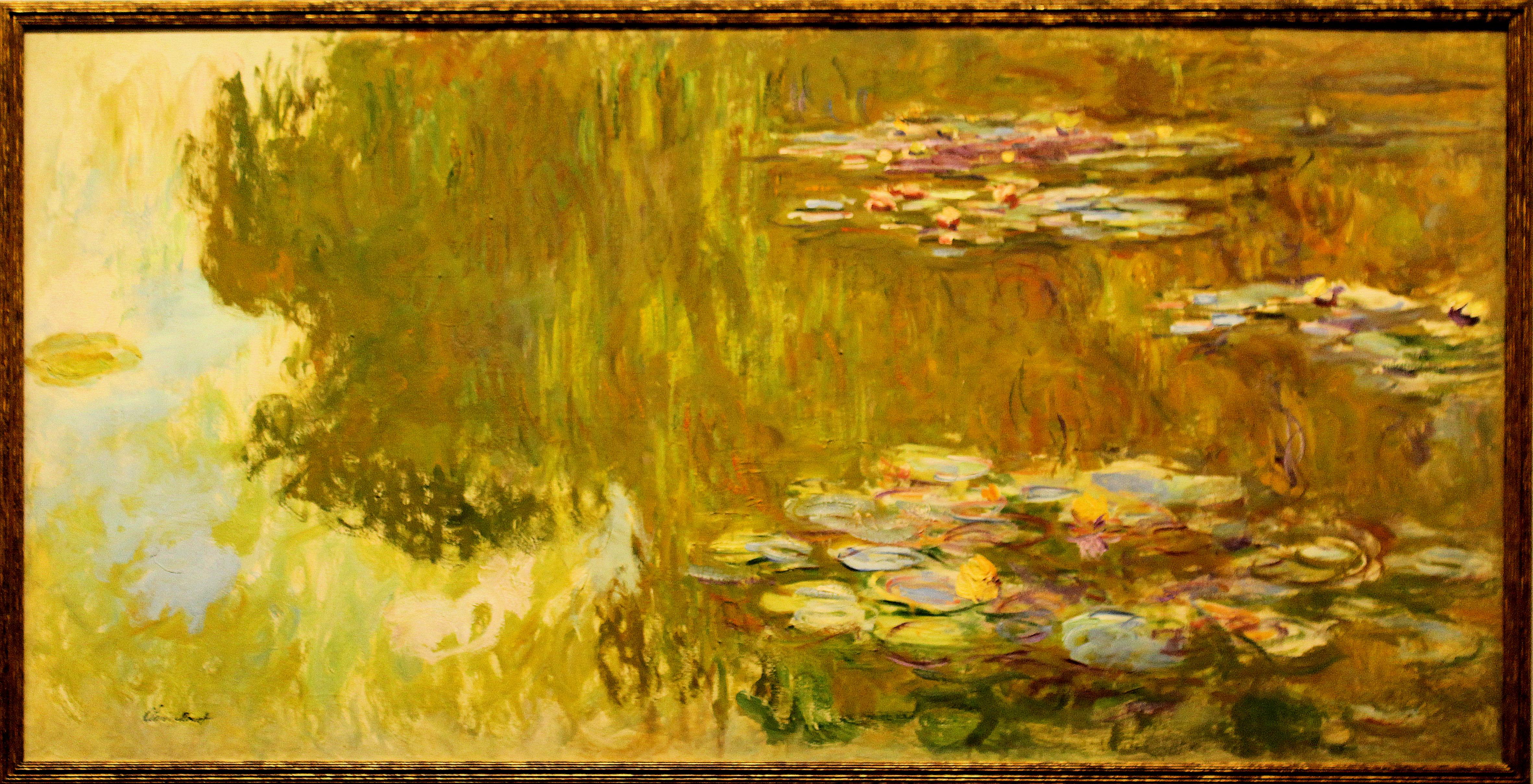 File Wien Innenstadt Albertina Claude Monet Der Seerosenteich Jpg