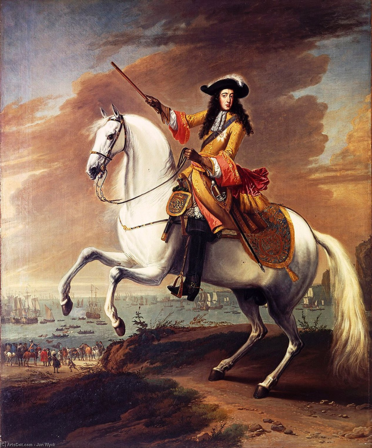 William of Orange at Torbay (Jan Wyck)