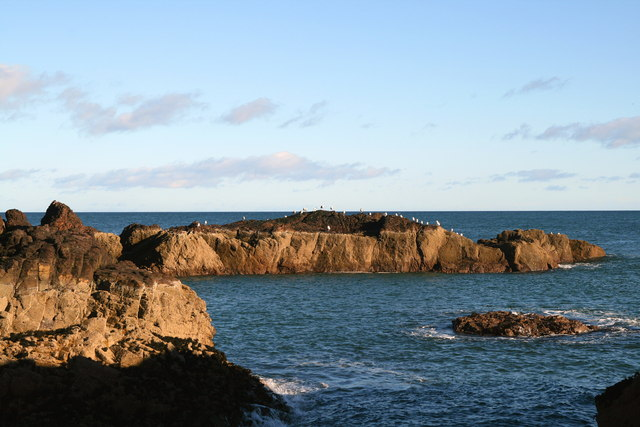 Wuddy Rocks, St Abbs - geograph.org.uk - 597044