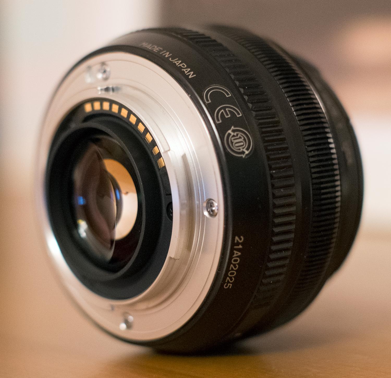 Fujifilm X-mount - Wikipedia