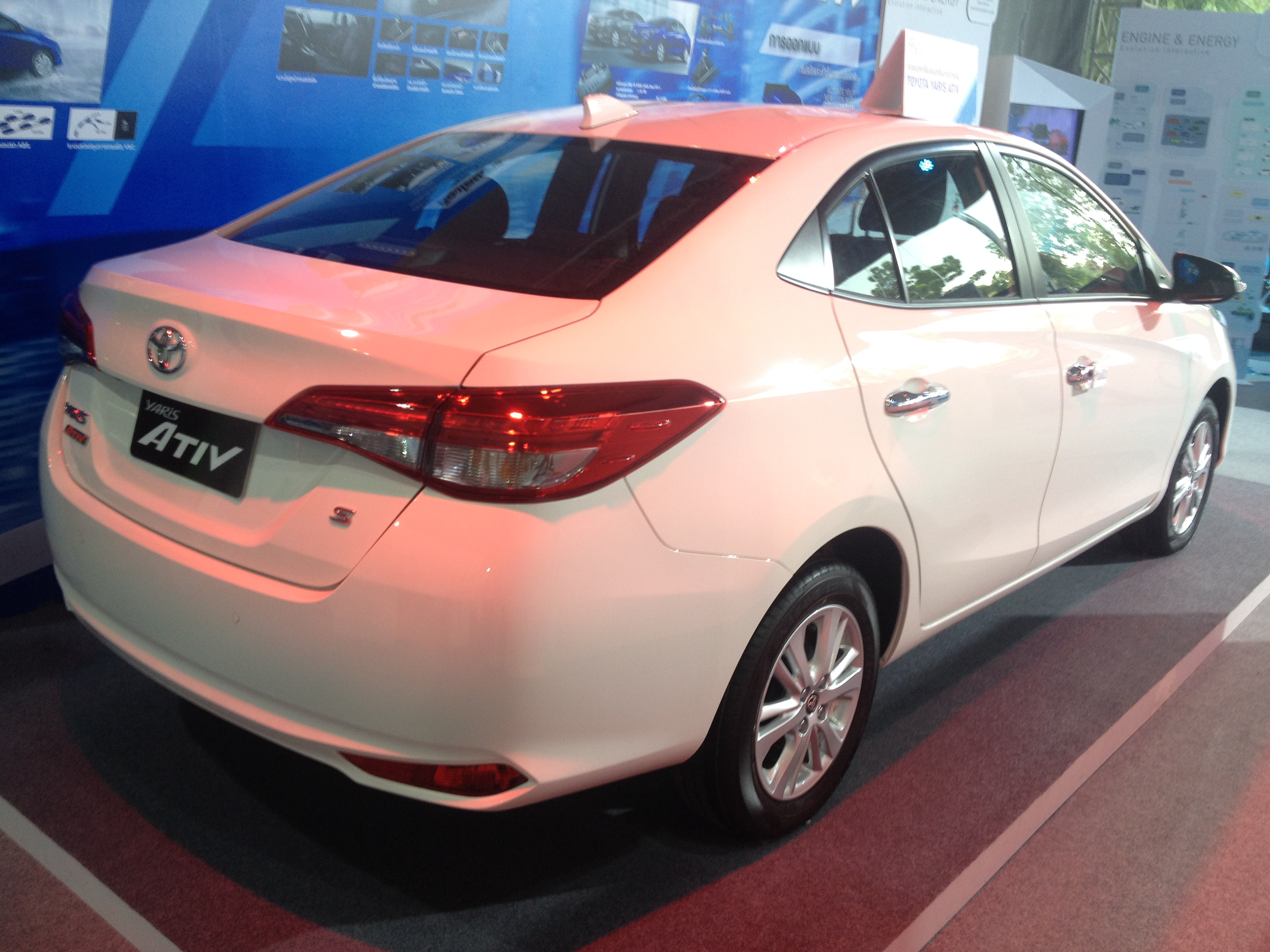 expo toyota yaris first new videos big auto look