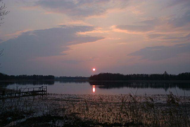 Jezioro Wigry. Autor: Merlin, licencja: CC BY-SA 3.0.