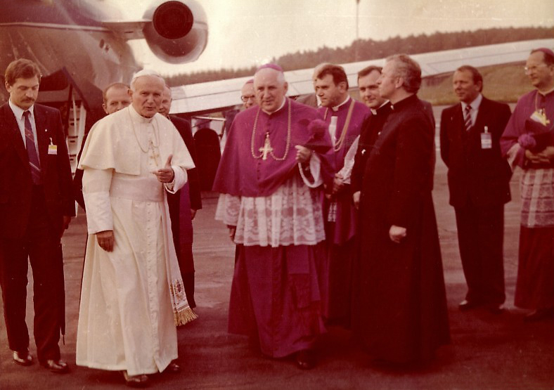 papież na babich dołach